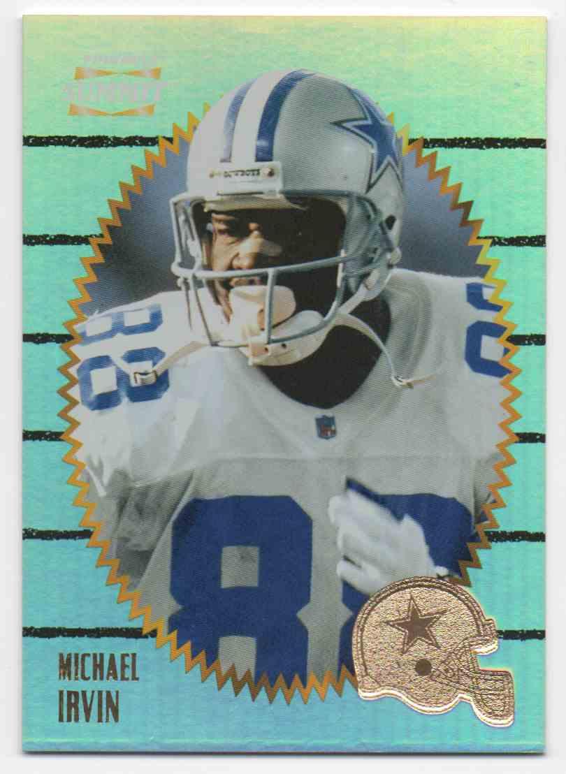 1996 Summit Premium Stock Michael Irvin #42 card front image