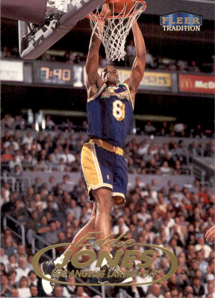 1998-99 Fleer Eddie Jones #46 card front image