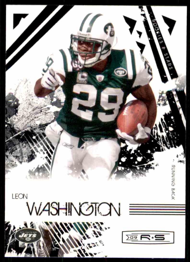 2009 Rookies & Stars Leon Washington #69 card front image