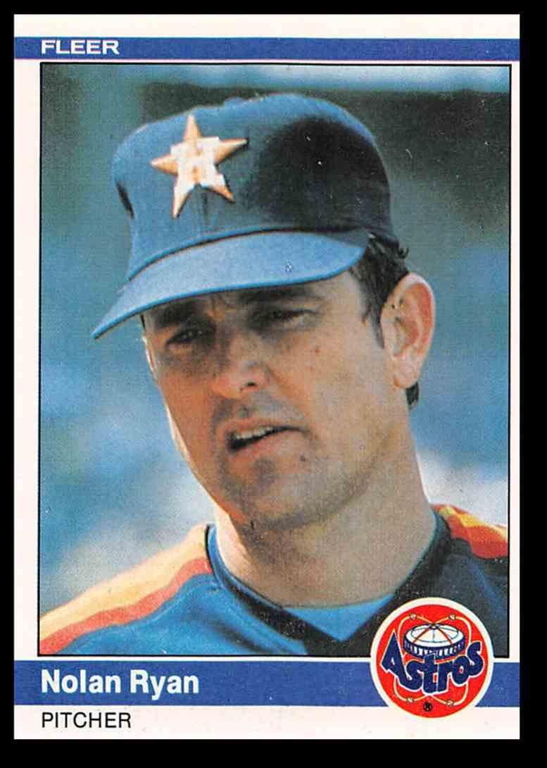 1984 Fleer Nolan Ryan Baseball Card 239 On Kronozio