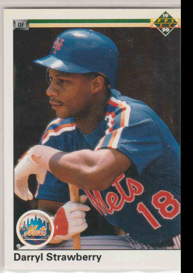 1990 Upper Deck Darryl Strawberry #182 on Kronozio