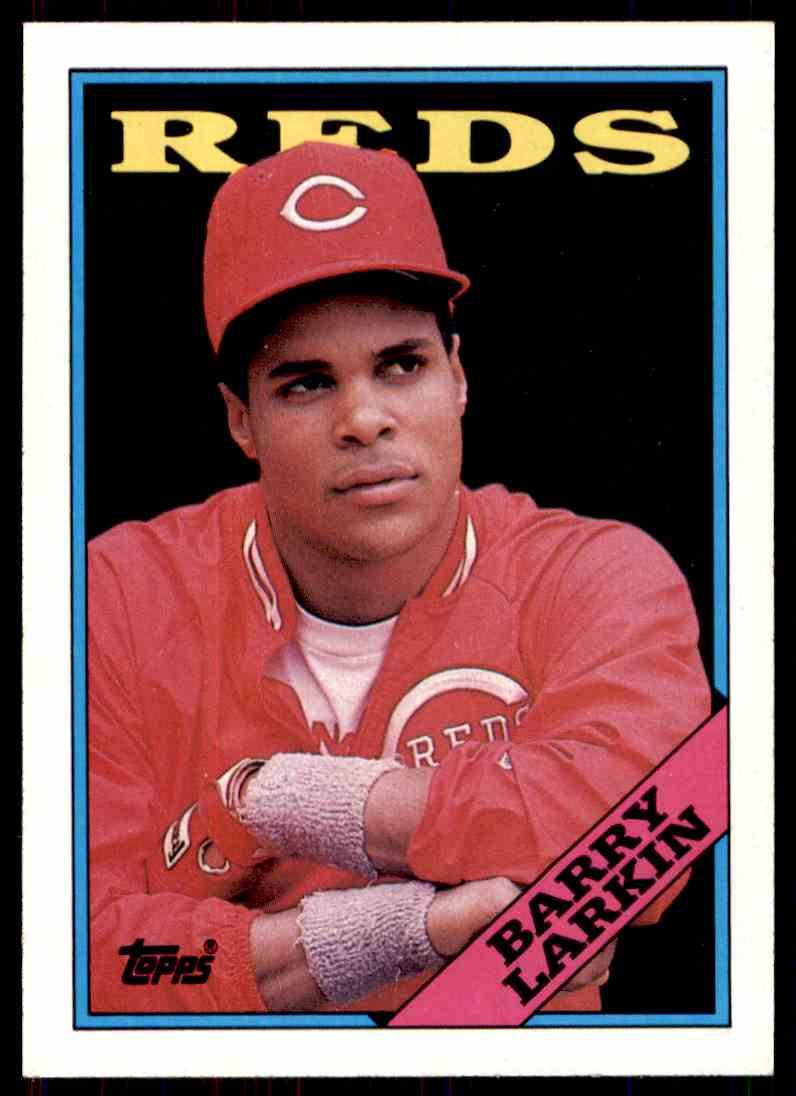 1988 Topps Baseball Barry Larkin 102 On Kronozio