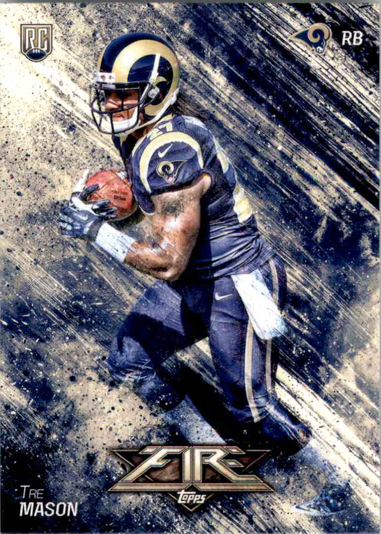 2014 Topps Fire Tre Mason RC #152 card front image