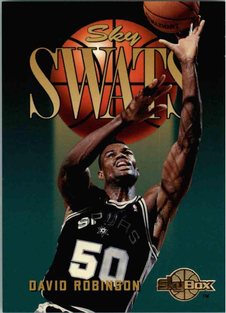 1995-96 Skybox David Robinson #335 card front image