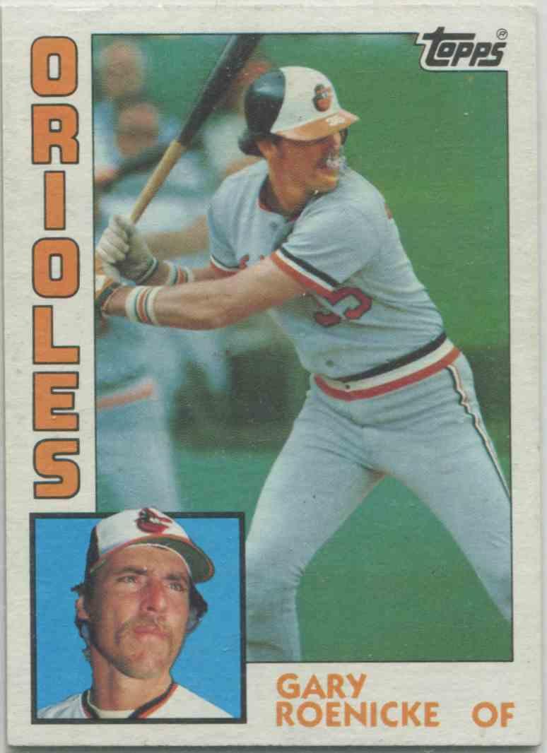 1984 Topps Gary Roenicke 372 On Kronozio