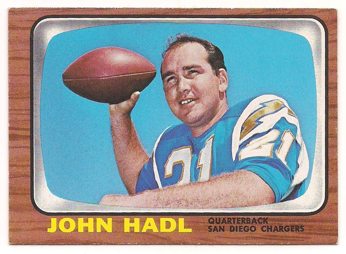 1966 Topps John Hadl #125 card front image