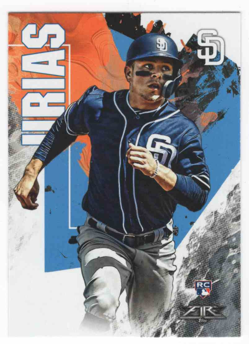 2019 Topps Fire Luis Urias #61 card front image