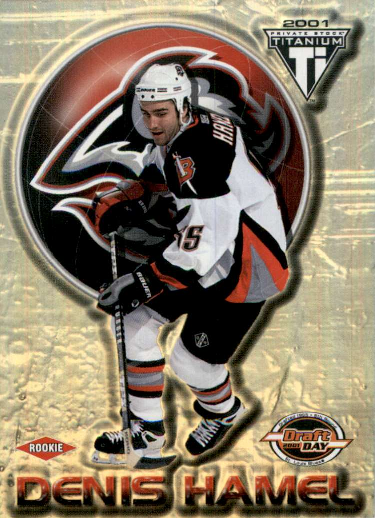 2000-01 Titanium Draft Day Edition Denis Hamel #106 card front image