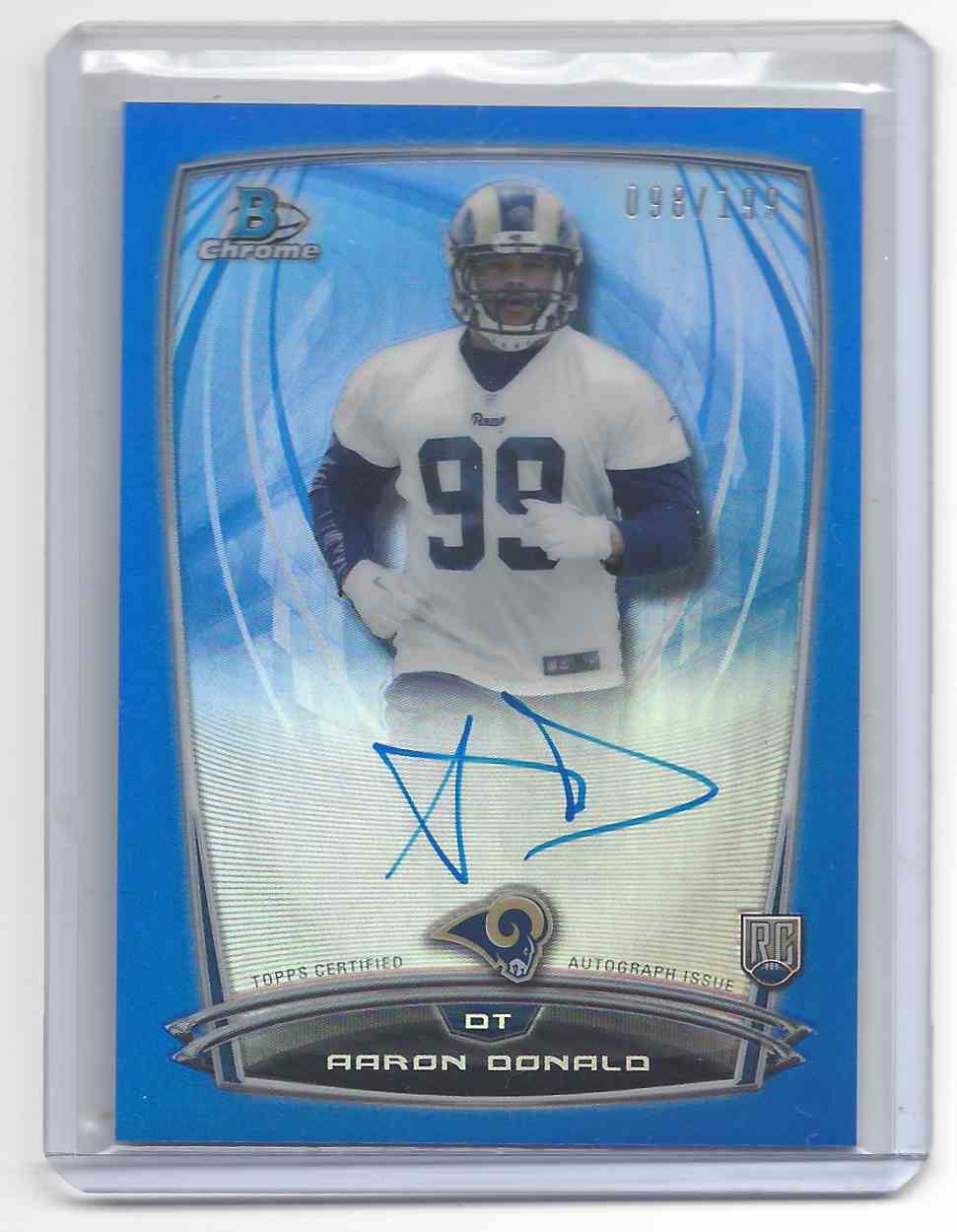2014 Topps Bowman Aaron Donald #ACRA AD card front image
