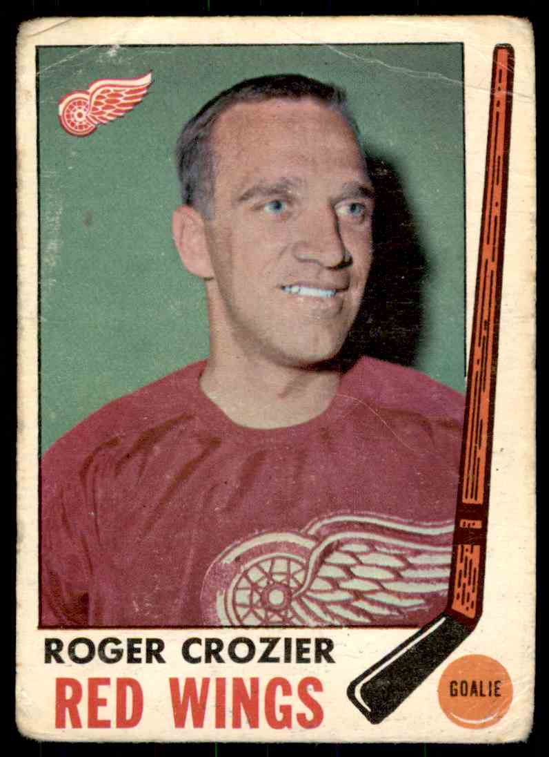 1969-70 Topps Roger Crozier #55 card front image