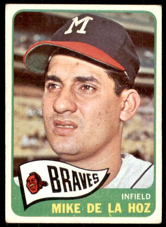 1965 Topps (B7-5C) Mike De La Hoz #182 card front image