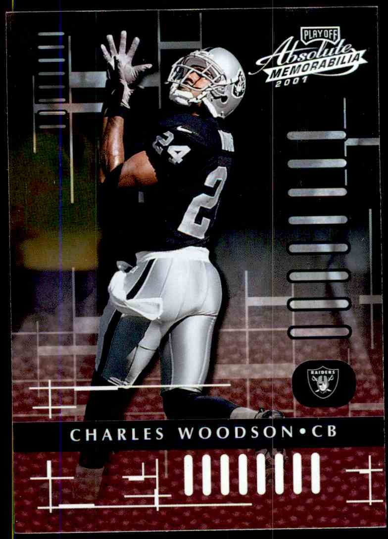 2130475d6 2001 Absolute Memorabilia Charles Woodson #67 card front image
