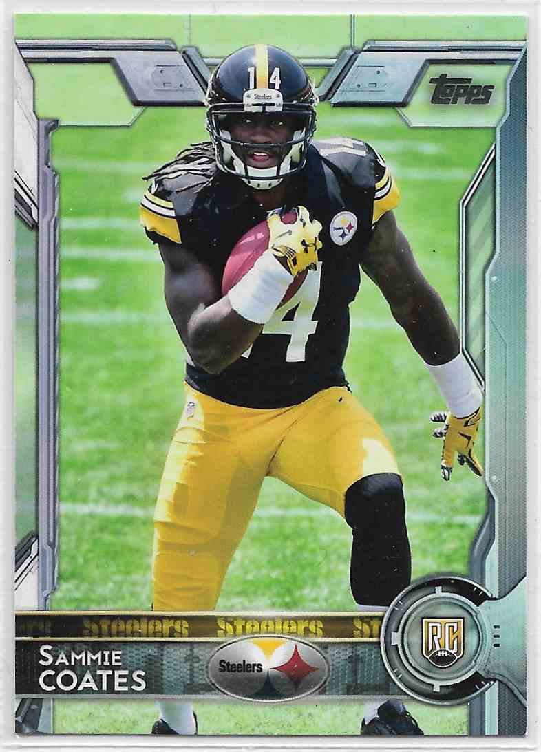 2015 Topps Sammie Coates #407 card front image