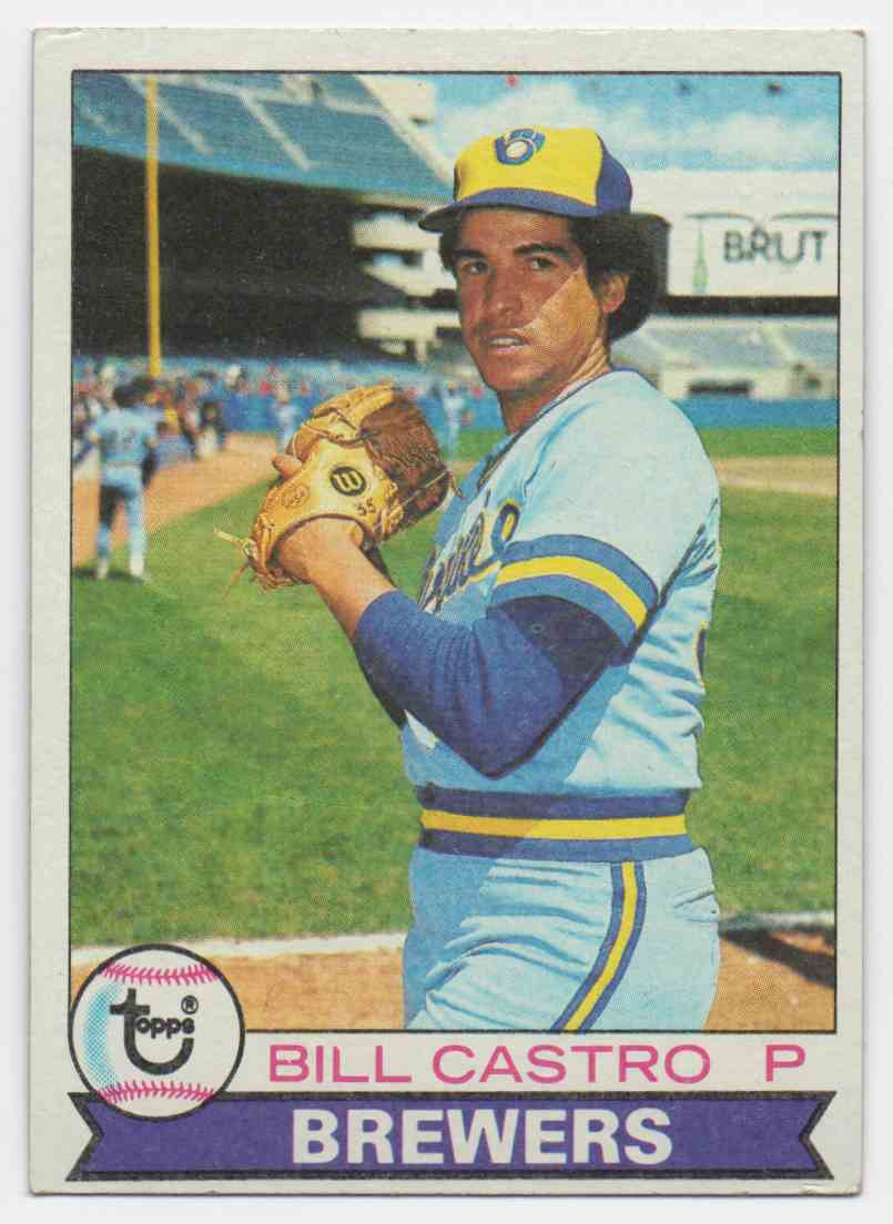 1979 Topps Bill Castro #133 card front image
