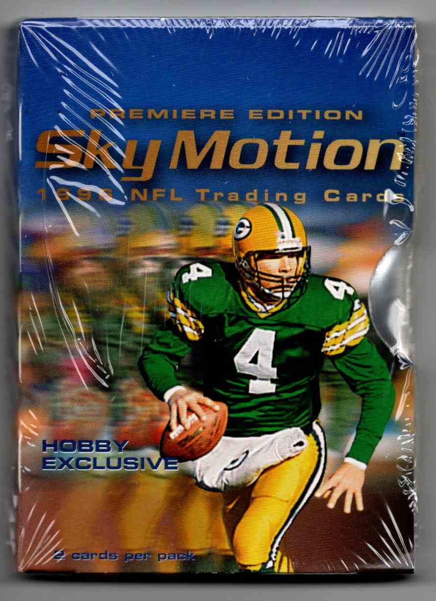1996 Skybox SkyMotion Unopened Pack #2 card front image