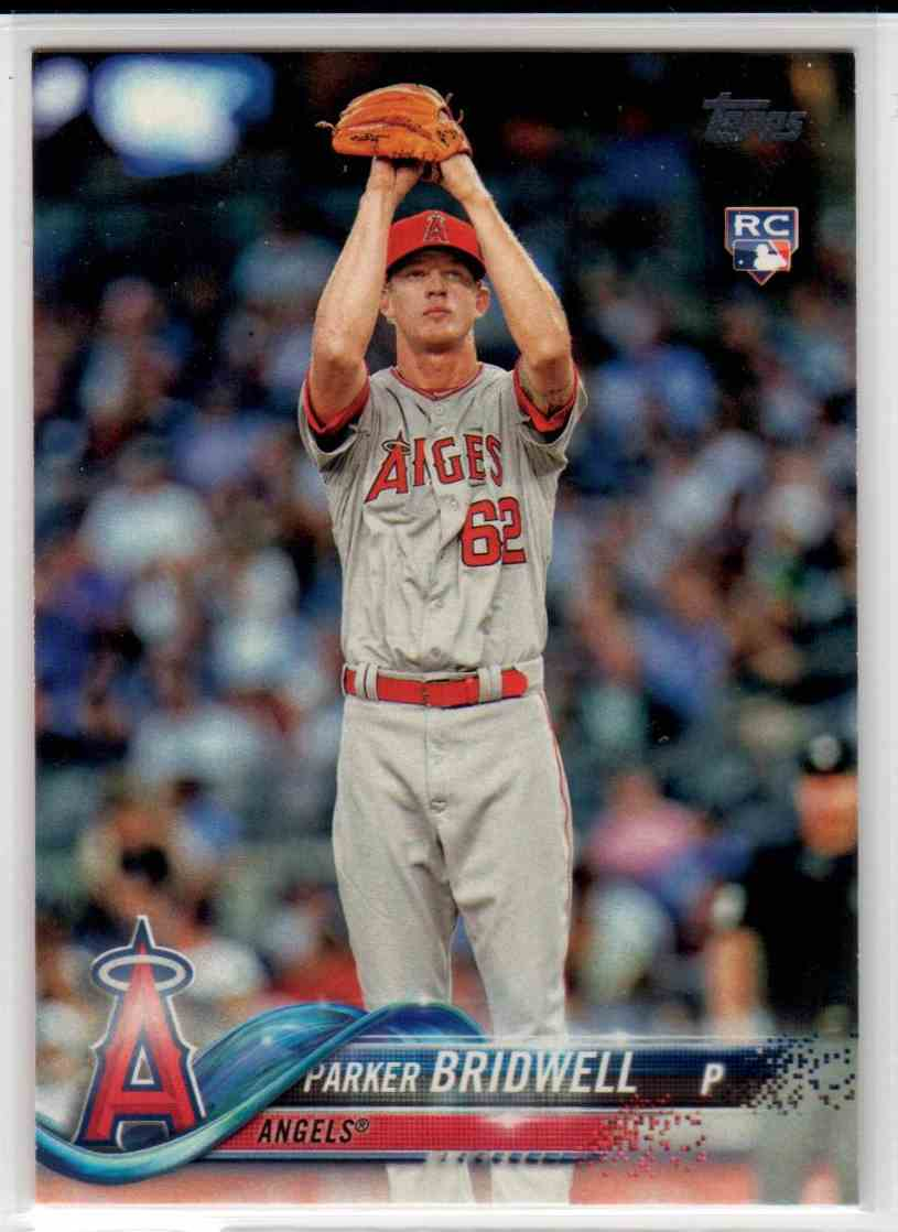 2018 Topps Series 1 Parker Bridwell #322 card front image