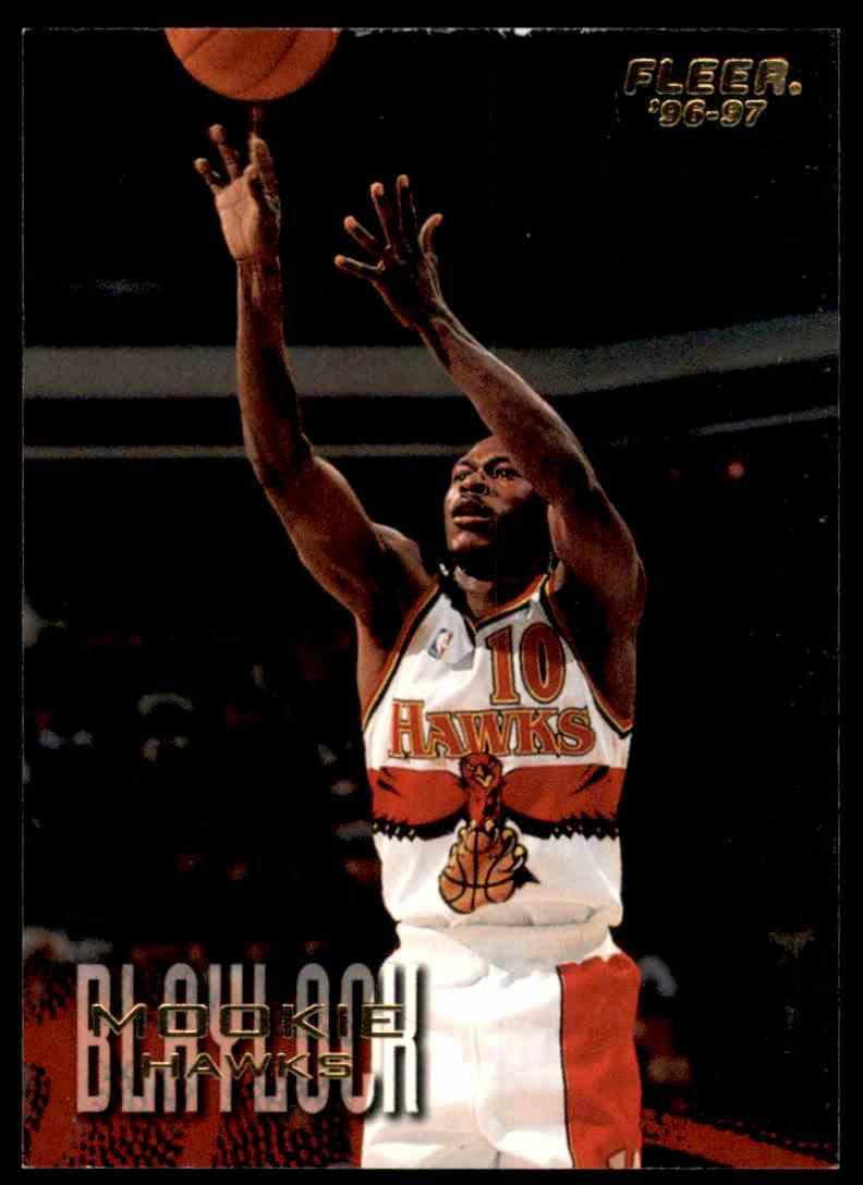 1996-97 Fleer Mookie Blaylock #2 card front image