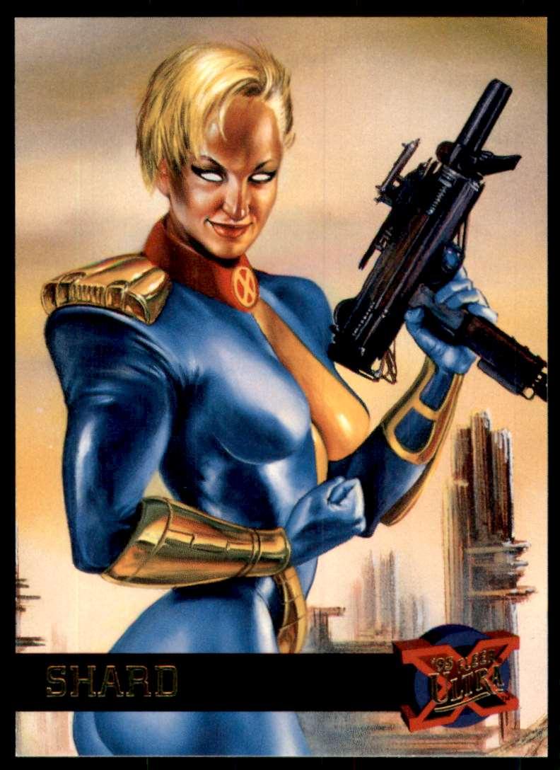 1995 X-Men Ultra Shard #43 card front image