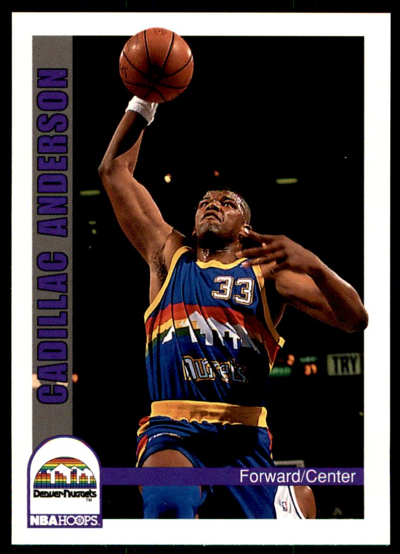 7 Cadillac Anderson trading cards for sale
