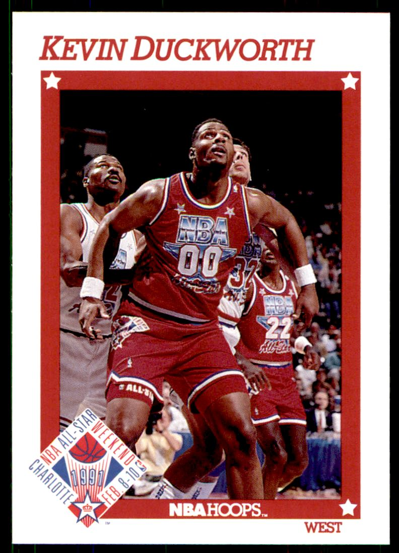1991 92 Nba Hoops Kevin Duckworth 263 on Kronozio