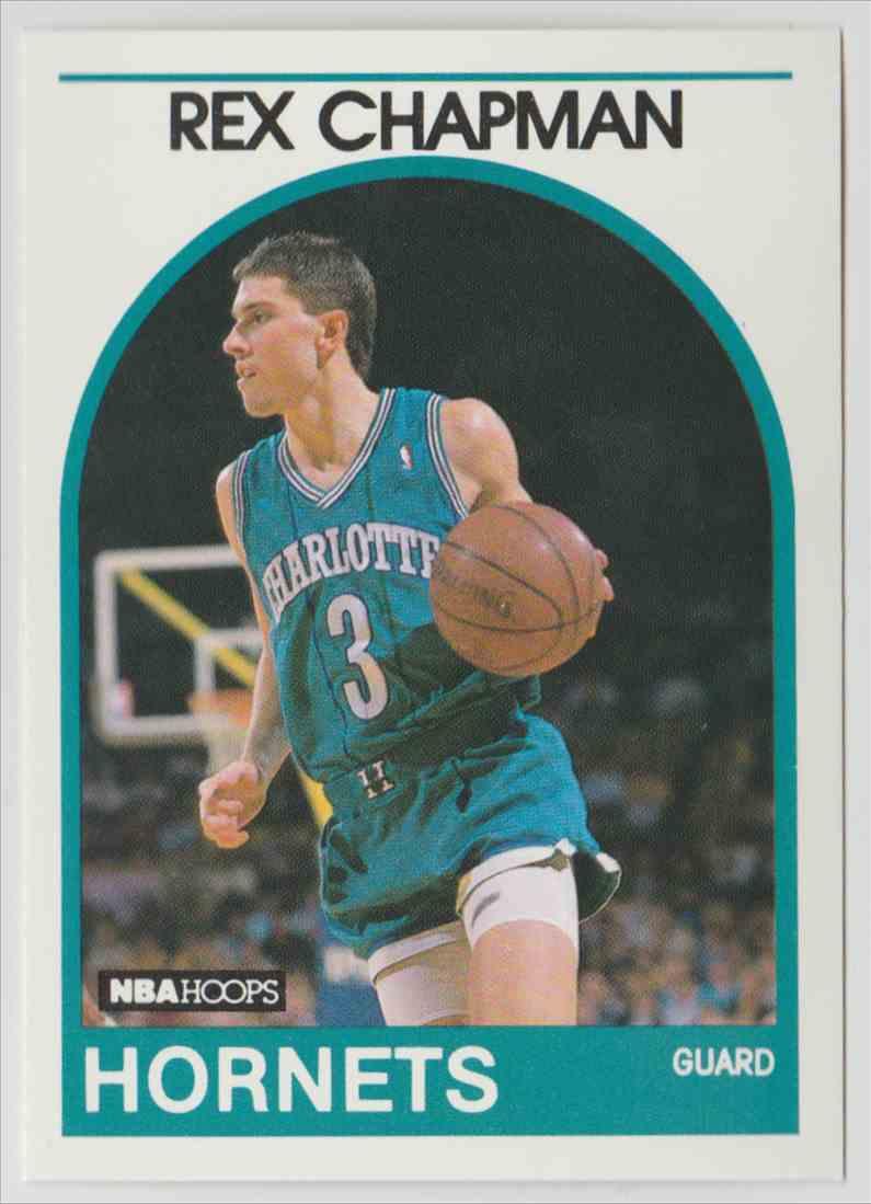 1989 90 NBA Hoops Rex Chapman 54 on Kronozio