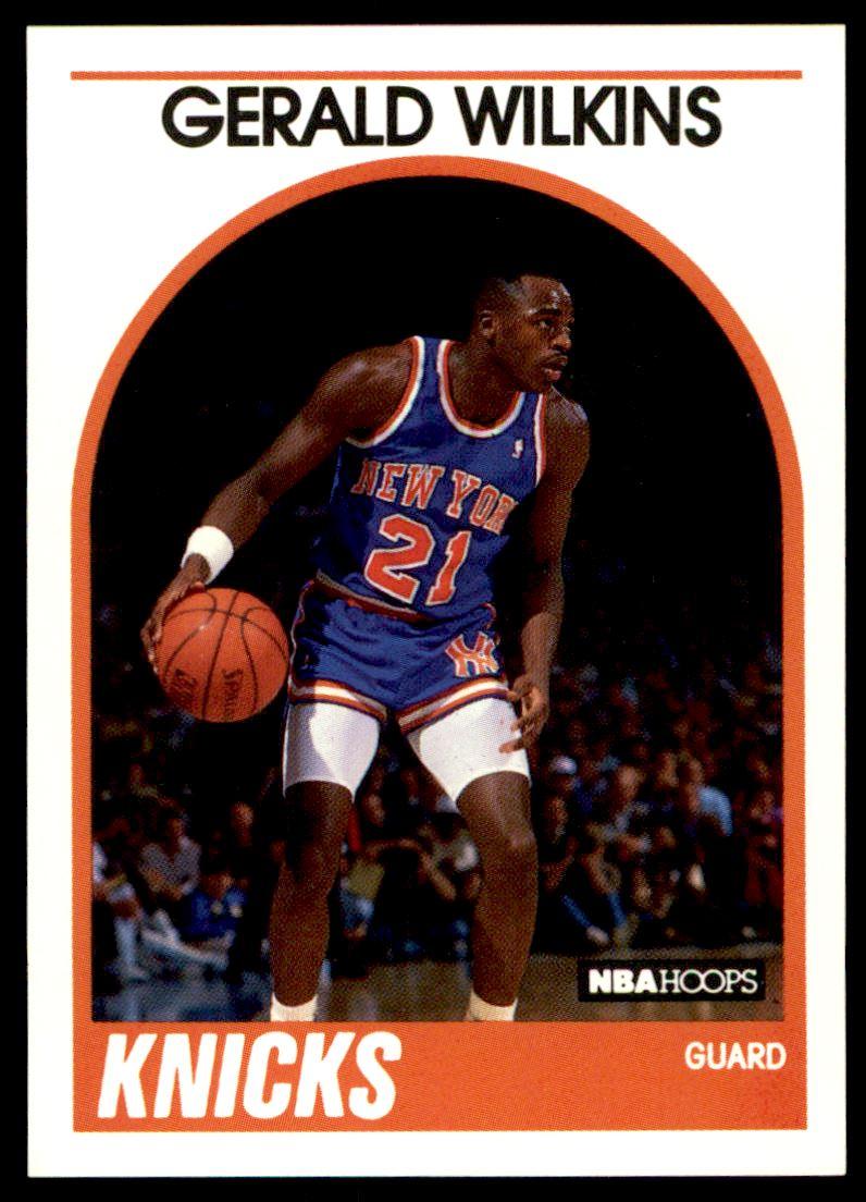 1989 90 Nba Hoops Gerald Wilkins 63 on Kronozio
