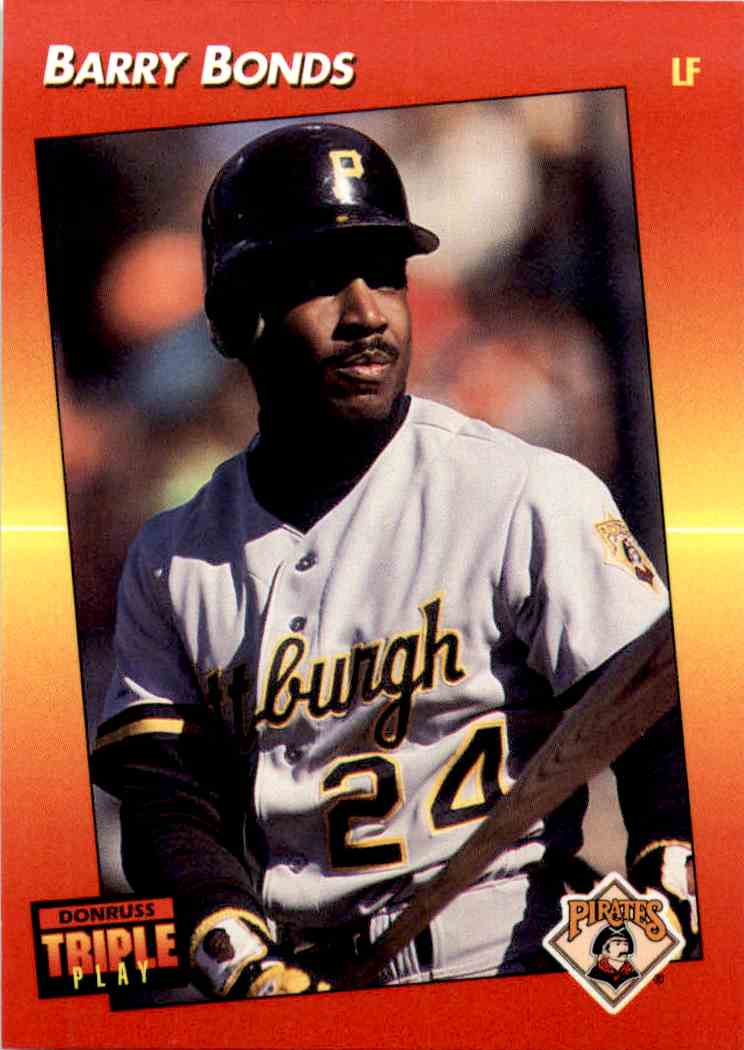 1992 Donruss Triple Play Barry Bonds 116 On Kronozio