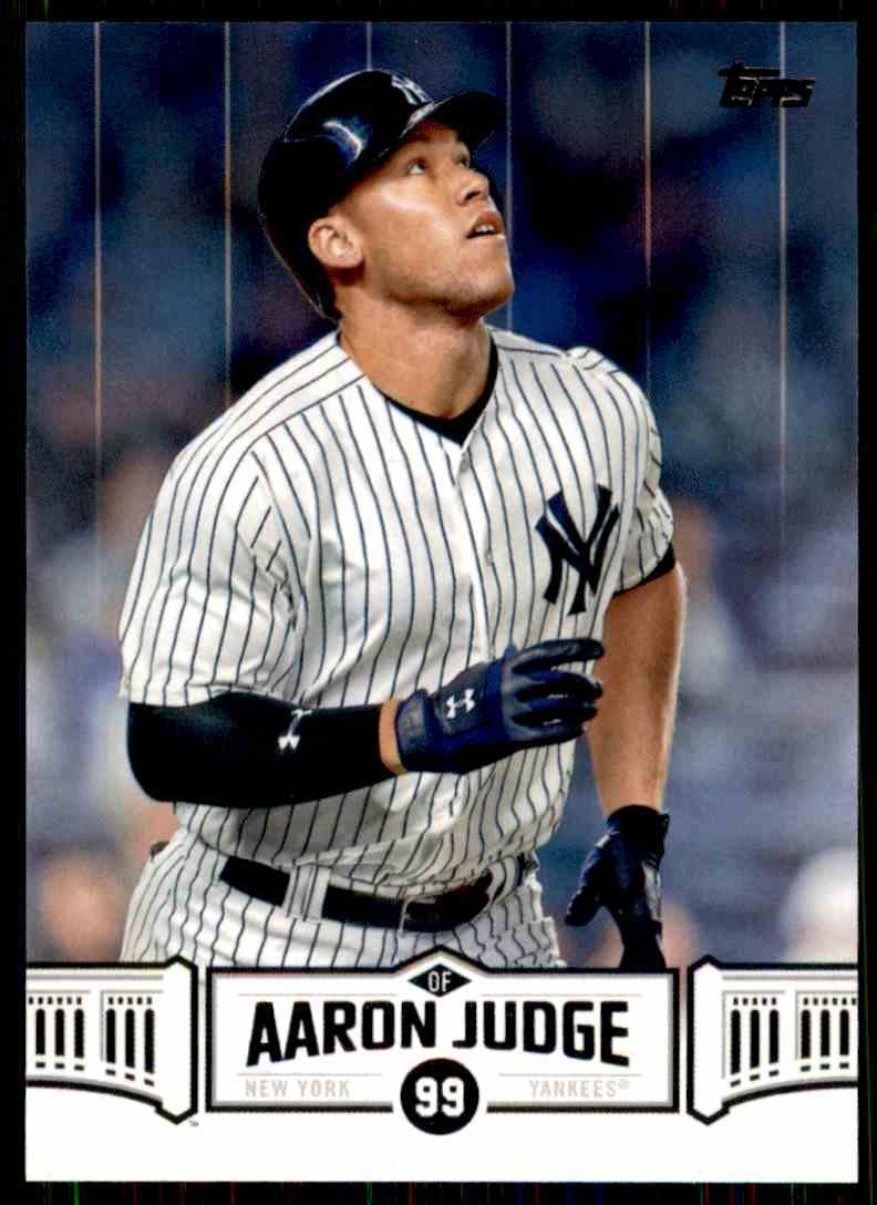 2018 Topps Aaron Judge Highlights Aaron ...
