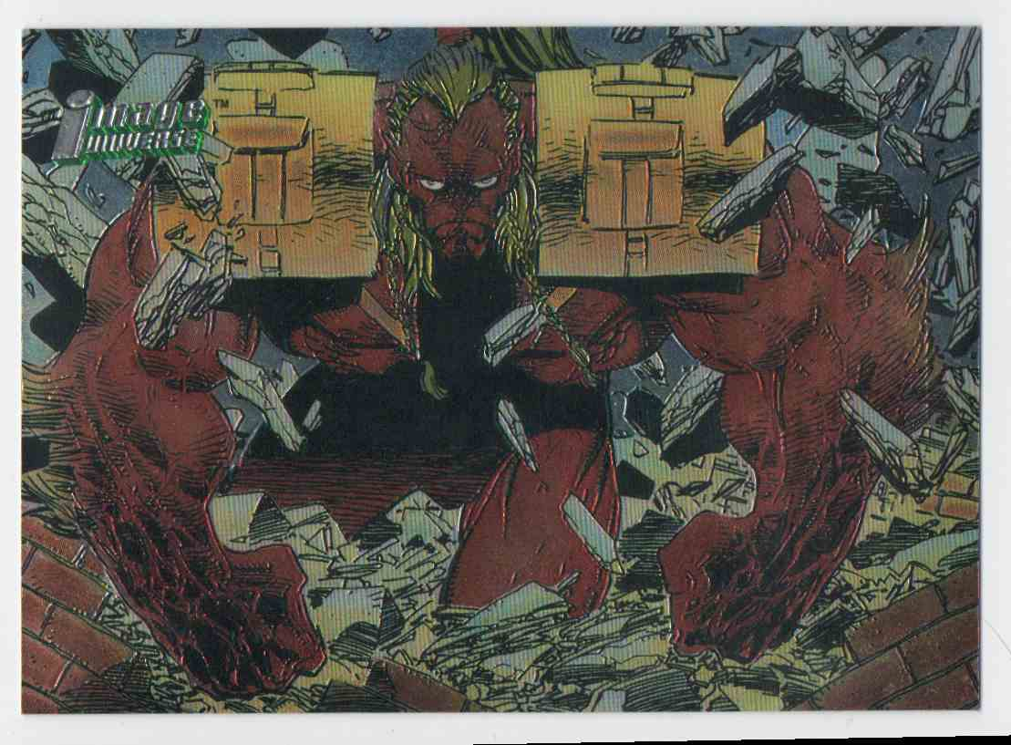 1995 Image Universe Barbaric #11 card front image