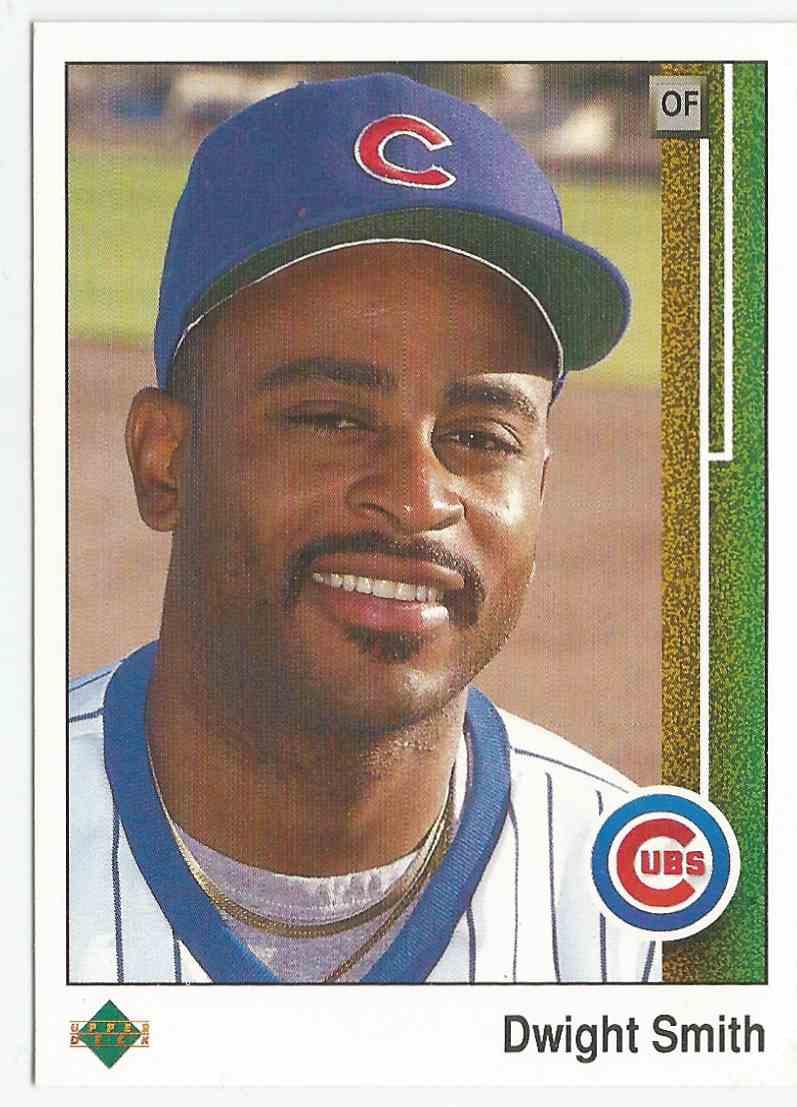1989 Upper Deck Dwight Smith