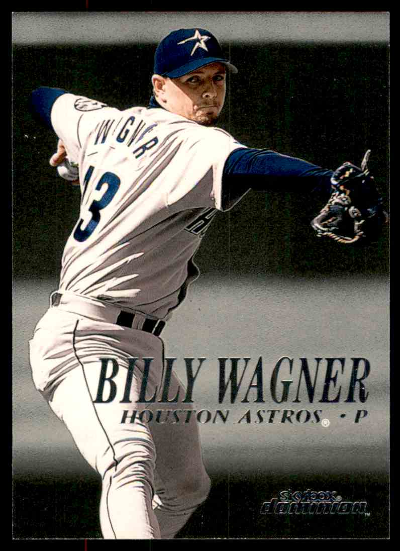 2000 SkyBox Dominion Billy Wagner #128 card front image