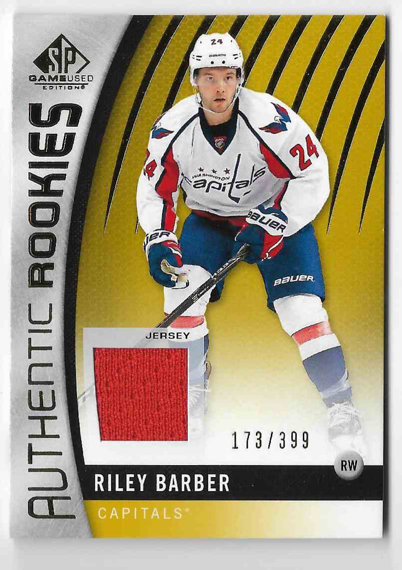 2017-18 SP Game Used Riley Barber #131 card front image