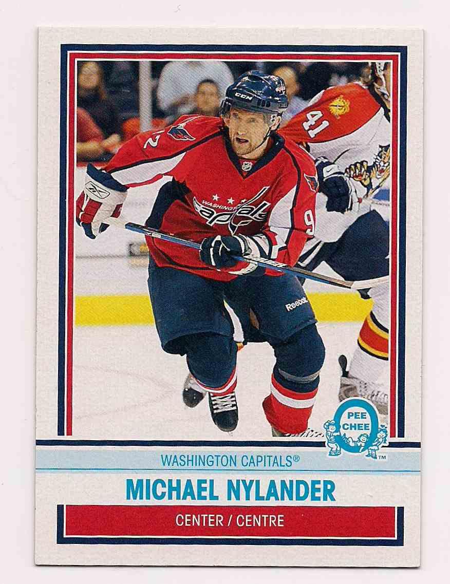 2009-10 0-Pee-Chee Retro Michael Nylander #402 card front image