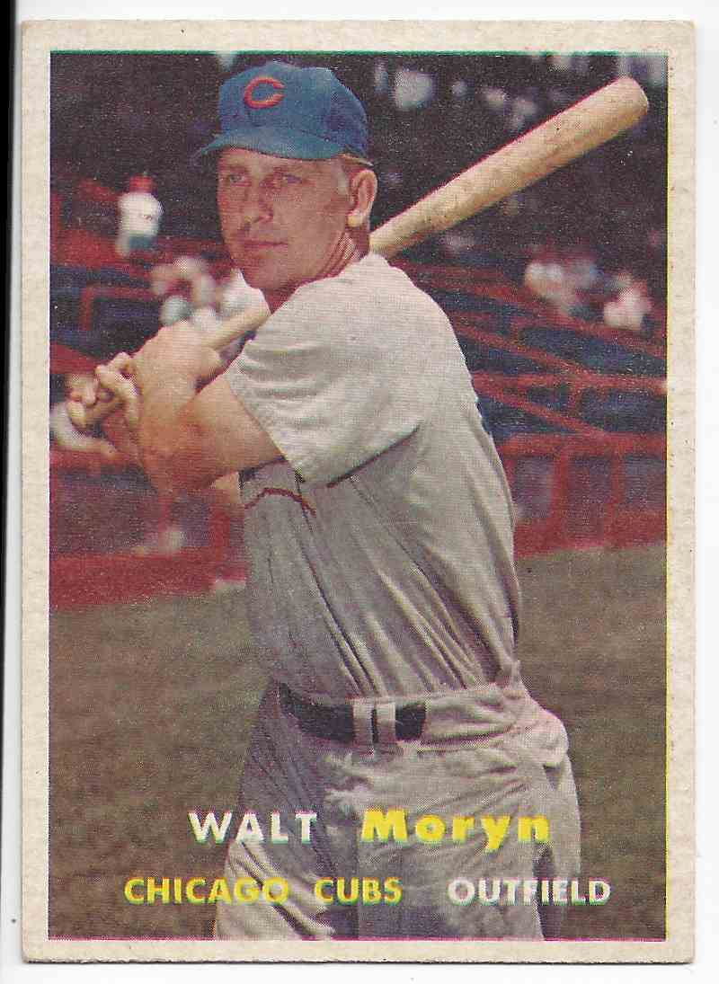 1957 Topps Walt Moryn #16 card front image