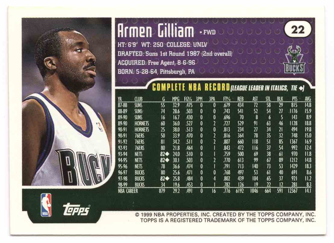 3 Armen Gilliam trading cards for sale
