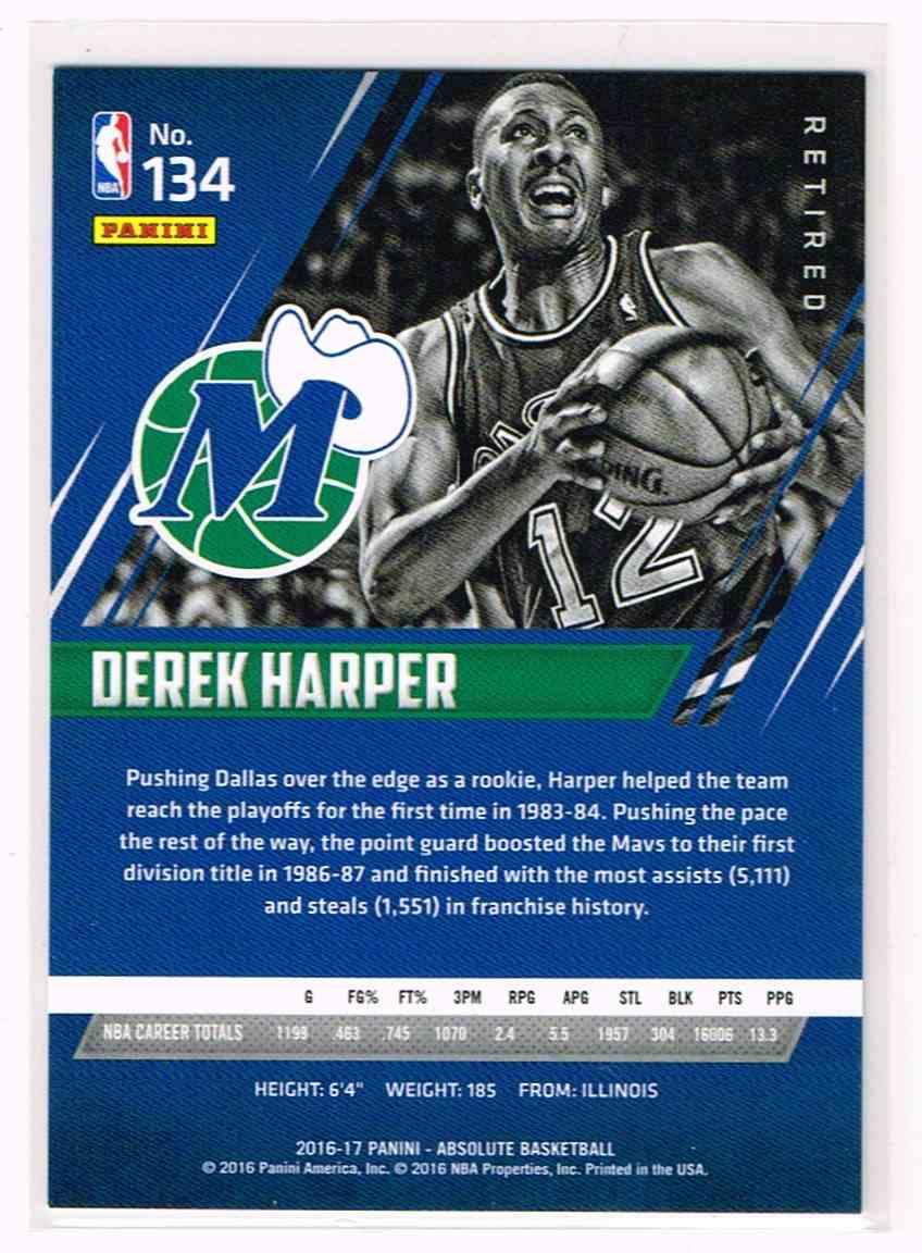 2016 17 Absolute Derek Harper on Kronozio