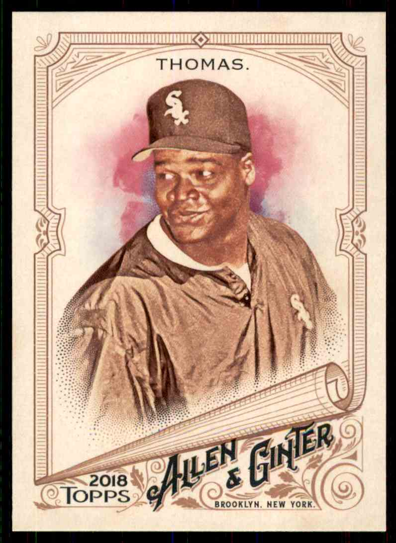 2018 Topps Allen & Ginter Frank Thomas #286 card front image