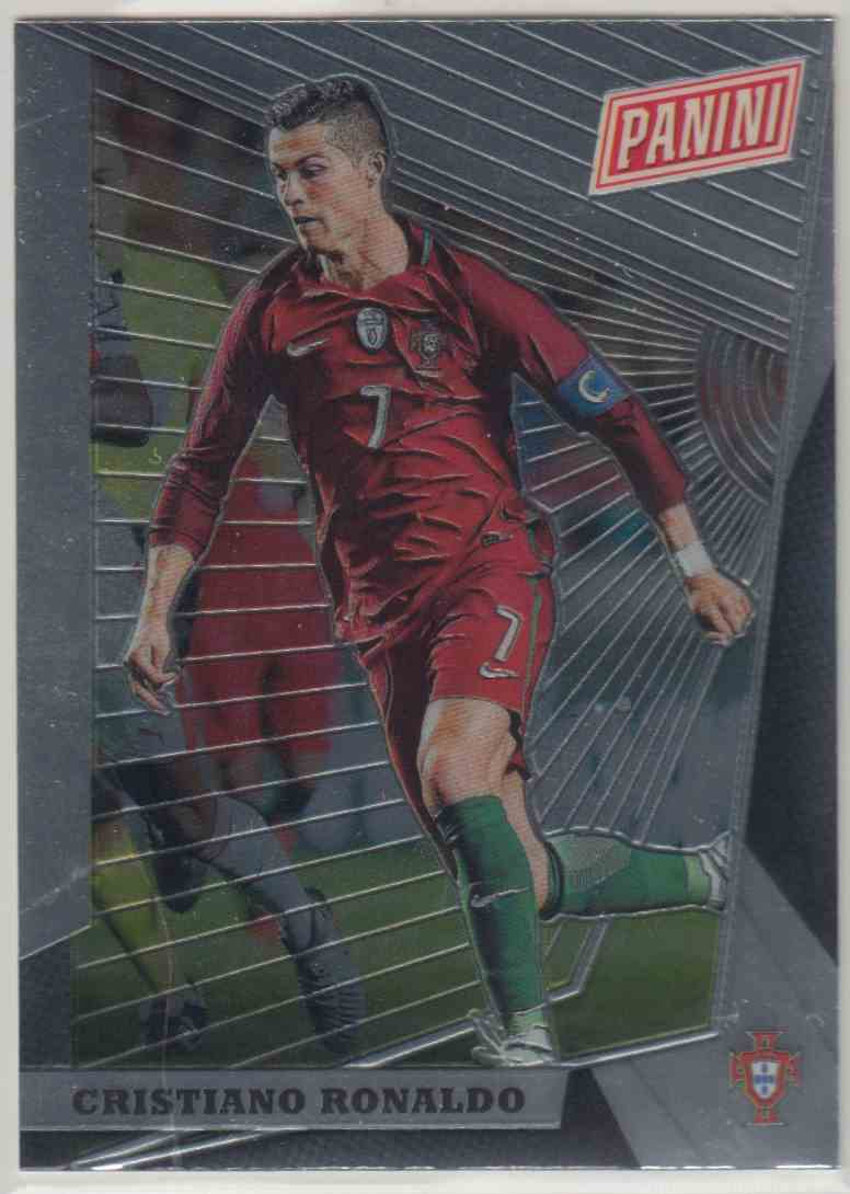 2018 Panini National Vip Base Cristiano Ronaldo #94 card front image