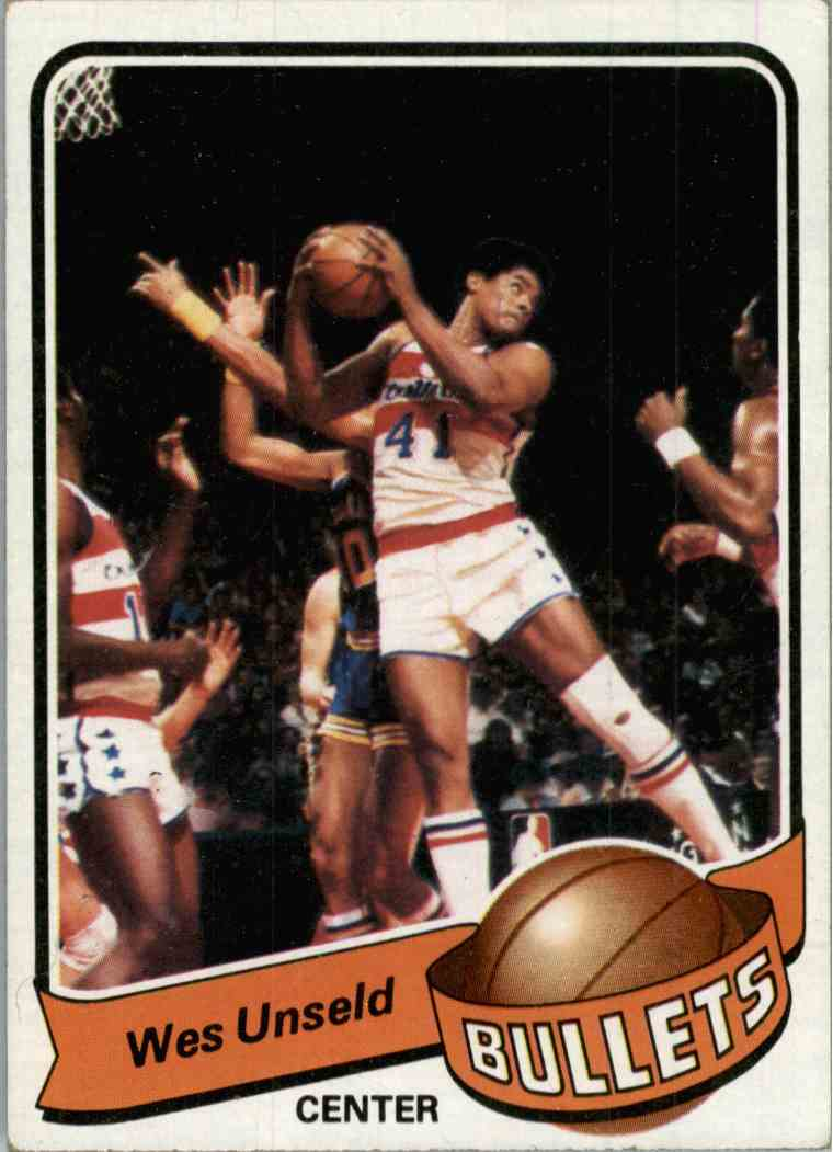 1979-80 Topps Wes Unseld #65 card front image