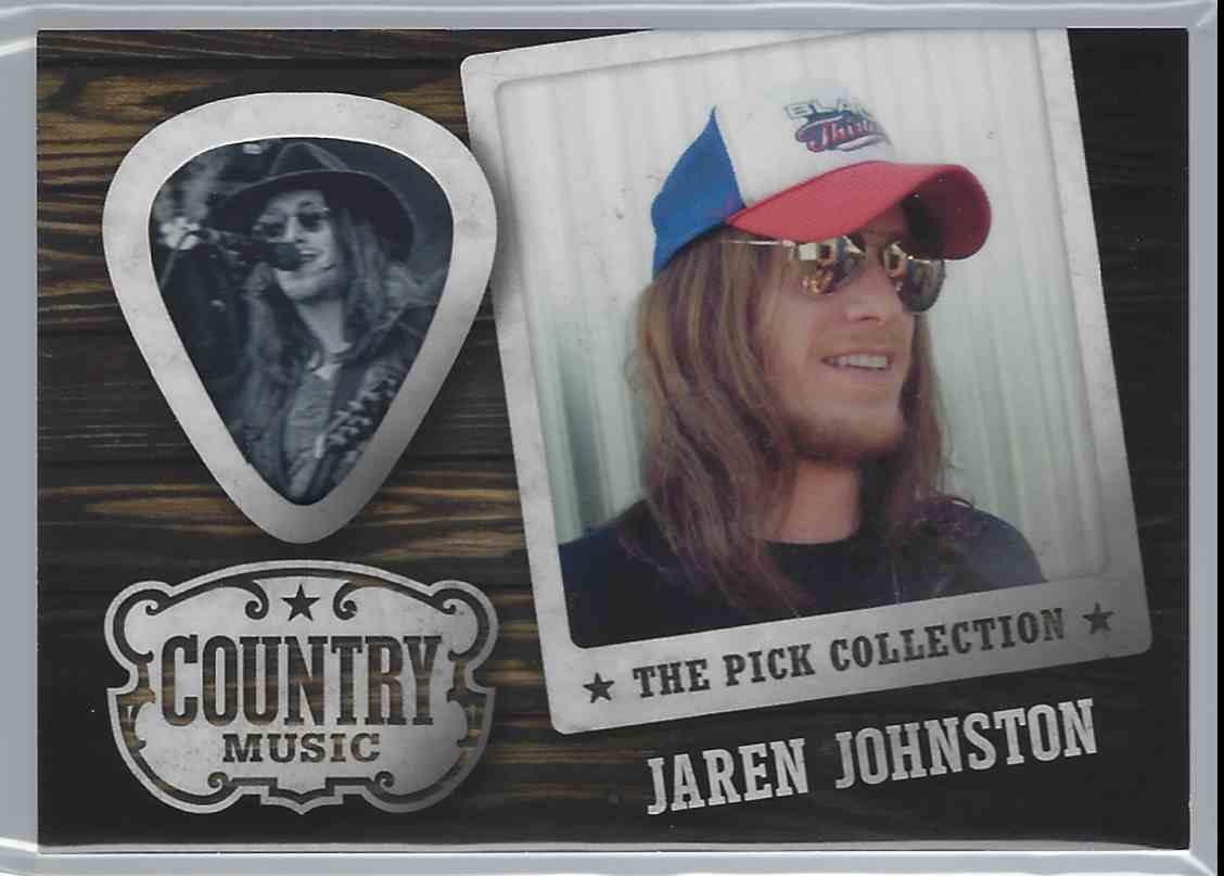 2015 Country Music Pick Collection Jaren Johnston #21 card front image