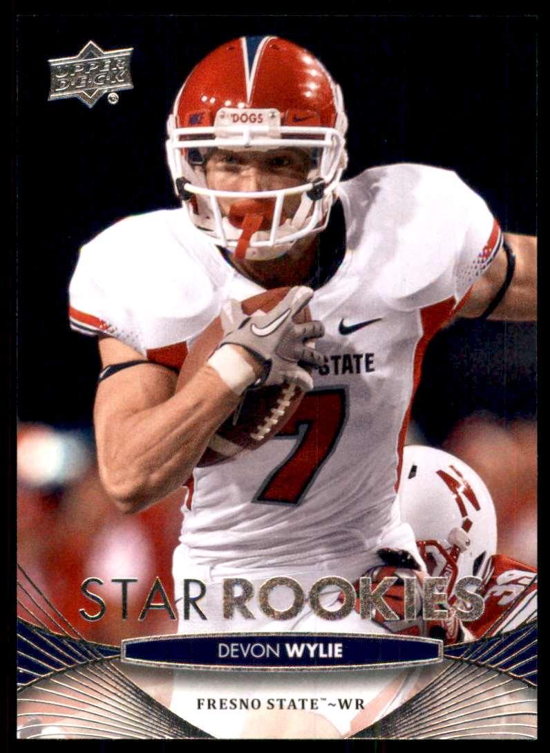 2012 Upper Deck Devon Wylie #84 card front image