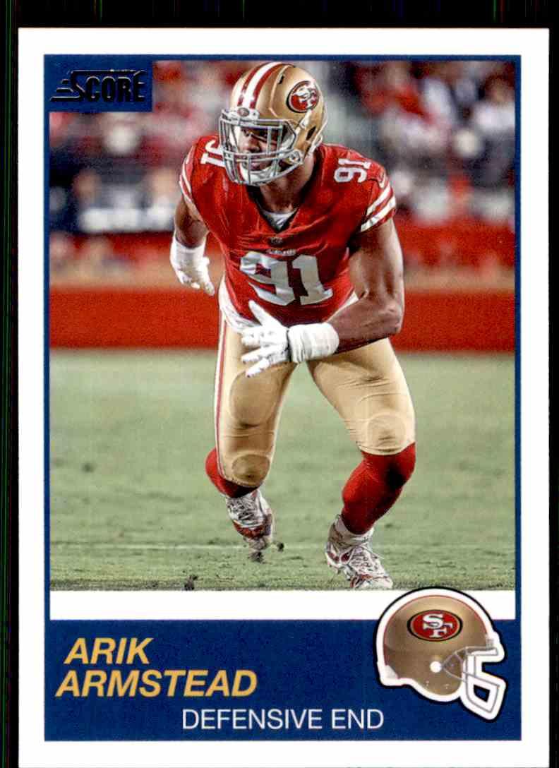 2019 Score Arik Armstead #313 card front image