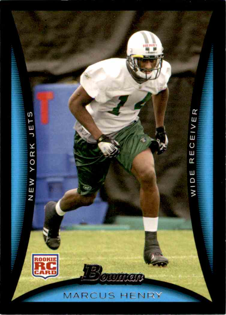 separation shoes dc964 7546f 2008 Bowman Marcus Henry #271 on Kronozio