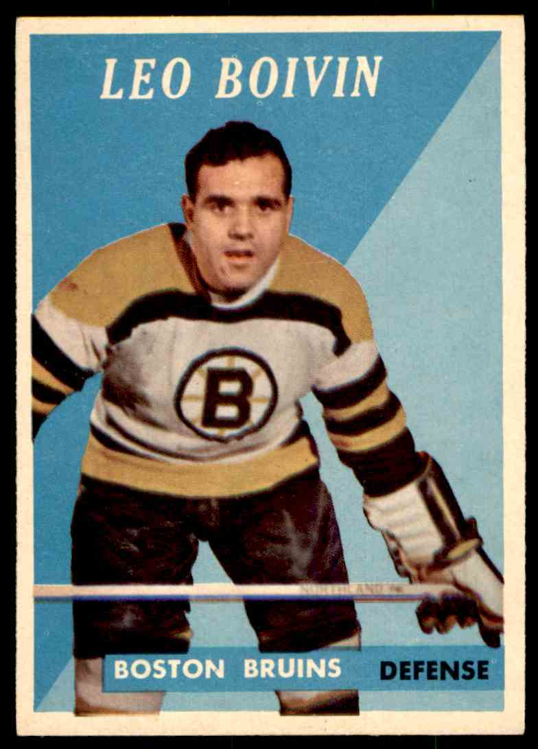 1958-59 Topps Leo Boivin #20 card front image