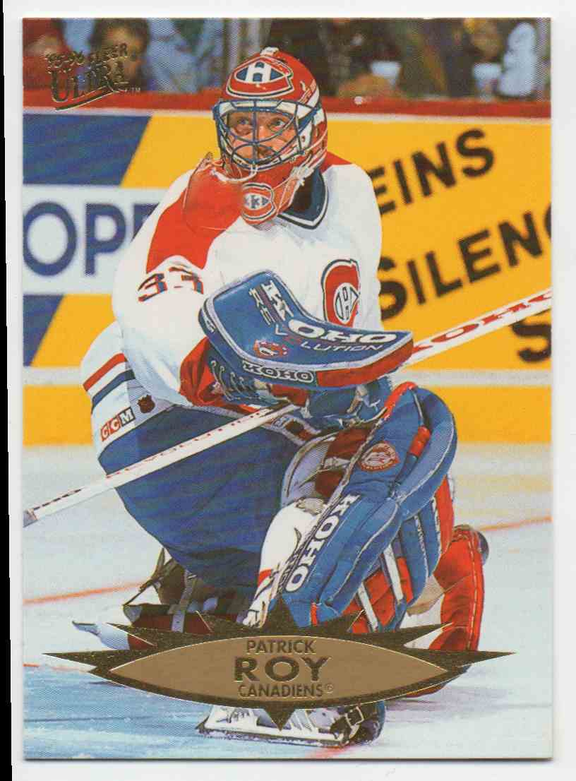 1995-96 Ultra Patrick Roy #83 card front image
