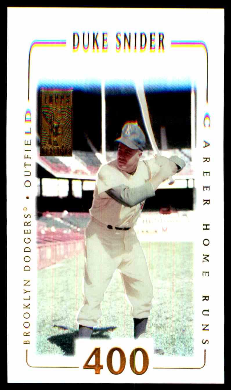 2002 Topps Tribute Duke Snider 35 Card Front Image
