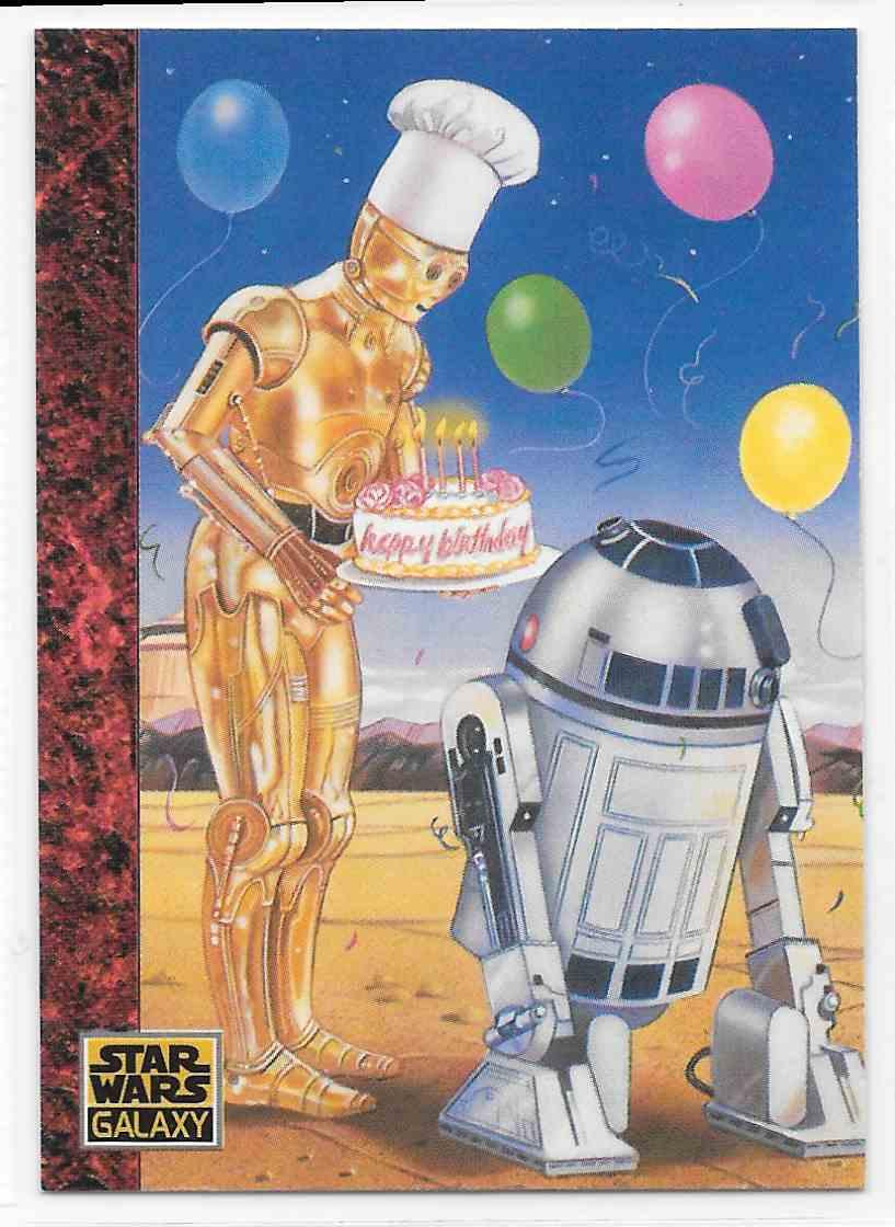1993 topps star wars galaxy series 1 happy birthday r2d2 art of base 1993 topps star wars galaxy series 1 happy birthday r2d2 art of base card 76 bookmarktalkfo Choice Image