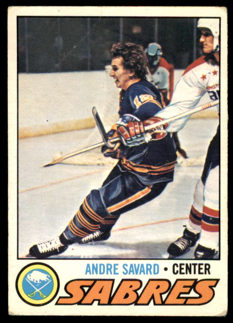 1977-78 OPC Andre Savard #118 card front image
