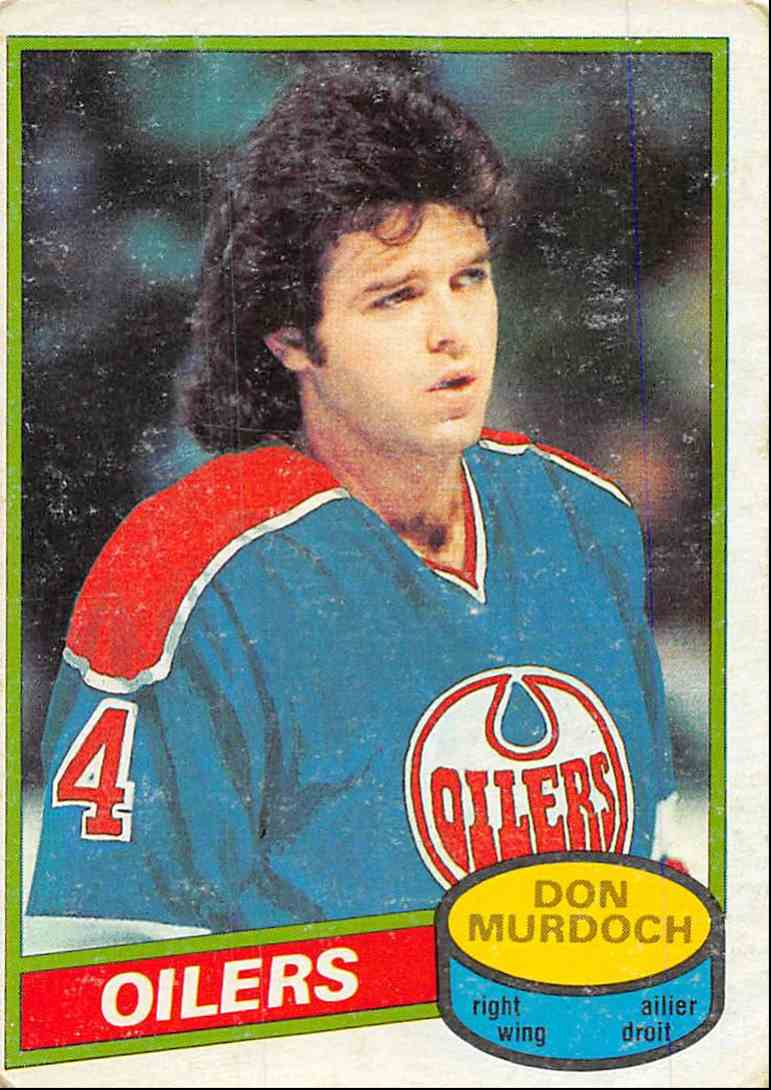 1980-81 O-Pee-Chee Don Murdoch #203 card front image