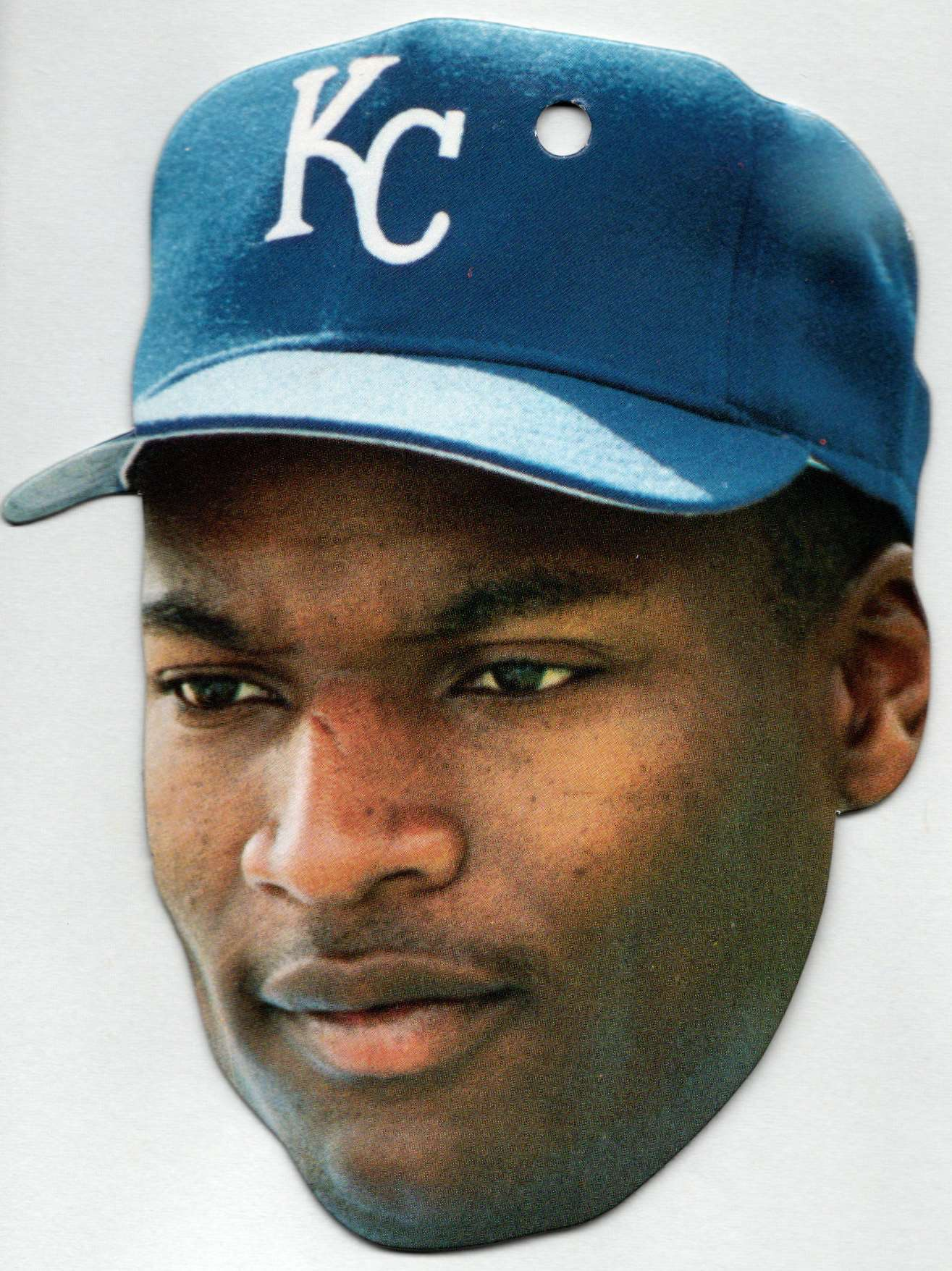 1990 Topps Heads Up Bo Jackson #8 card front image